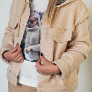 Трикотажная куртка