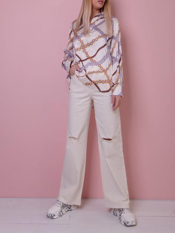 Шифоновая блузка