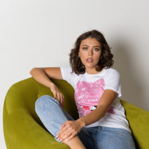 Итальянская футболка с принтом