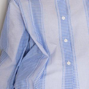 Рубашка с акцентным воротником